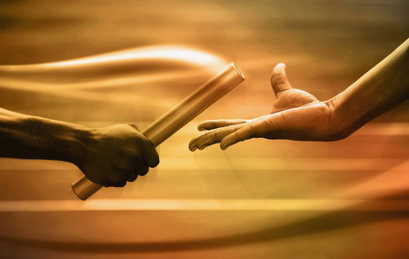 passing-gold-baton